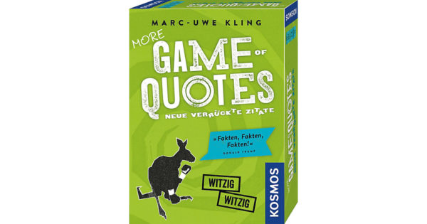 More Game of Quotes Guenstig kaufen